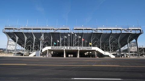 <p>               FILE - In this Nov. 4, 2019, file photo, the main gate of Indianapolis Motor Speedway in Indianapolis is shown. It is finally May and acceptable to declare this a crummy year for Roger Penske to have purchased Indianapolis Motor Speedway. (AP Photo/AJ Mast, File)             </p>