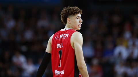 Cleveland Cavaliers — LaMelo Ball, PG, Australia