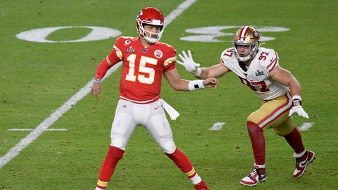 Kansas City Chiefs (-2) vs. San Francisco 49ers