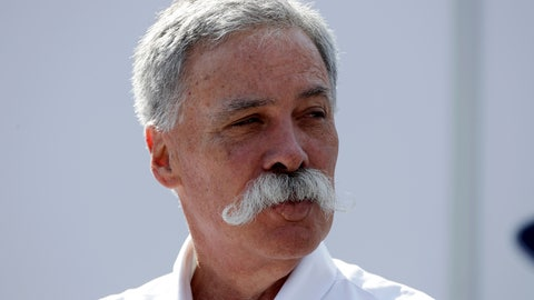 <p>               FILE - In this Saturday, Sept. 7, 2019 file photo, CEO of the Formula One Group, Chase Carey arrives prior to the third free practice at the Monza racetrack, in Monza, Italy. Formula One races won't be canceled if a driver tests positive for the coronavirus or if a team withdraws, CEO Chase Carey says. F1 is keen to avoid a repeat of the season opener in Australia in March, which was canceled when McLaren withdrew after a staff member tested positive for the virus. The season is now set to start with two races in Austria on July 5 and 12. (AP Photo/Luca Bruno, File)             </p>