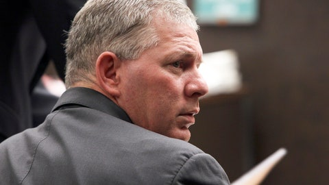<p>               FILE - In this March 5, 2012, file photo, former All-Star outfielder Lenny Dykstra is seen during his sentencing for grand theft auto in the San Fernando Valley section of Los Angeles. A judge has dismissed Lenny Dykstra's defamation lawsuit against former New York Mets teammate Ron Darling, Friday, May 29, 2020, ruling the outfielder's reputation already was so tarnished it could not be damaged more.  (AP Photo/Nick Ut, File)             </p>