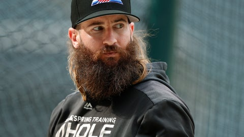 <p>               FILE - In this Sept. 11, 2019, file photo, Colorado Rockies right fielder Charlie Blackmon waits to enter the batting cage before the team's baseball game against the St. Louis Cardinals in Denver. All-Star outfielder Charlie Blackmon of the Colorado Rockies has become the first Major League Baseball player known to have tested positive for the coronavirus. A person familiar with Blackmon's situation confirmed the test result to The Associated Press on condition of anonymity because there was no official announcement. (AP Photo/David Zalubowski, File)             </p>