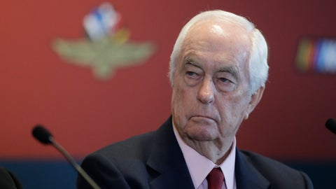 <p>               FILE - In this Jan. 15, 2020 file photo Indianapolis Motor Speedway owner Roger Penske listens during a news conference at the Indianapolis Motor Speedway in Indianapolis. Penske will watch his first race as owner of the IndyCar Series from a suite for the first time since 1995 when his teams failed to make the Indianapolis 500. He bought the series and Indianapolis Motor Speedway in January but his debut was delayed by the coronavirus pandemic. The IndyCar season opens Saturday, June 6, 2020 at Texas Motor Speedway. (AP Photo/Darron Cummings)             </p>