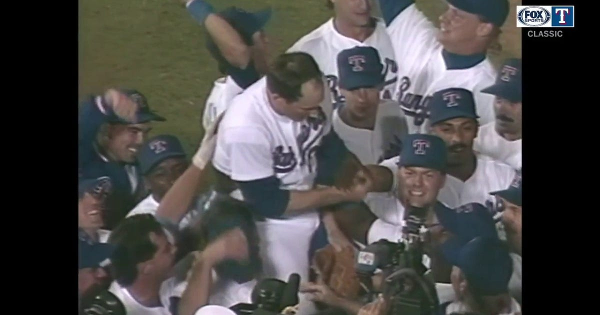 WATCH: No-Hitter No. 7 In the Books for Nolan Ryan | Rangers CLASSICS (VIDEO)