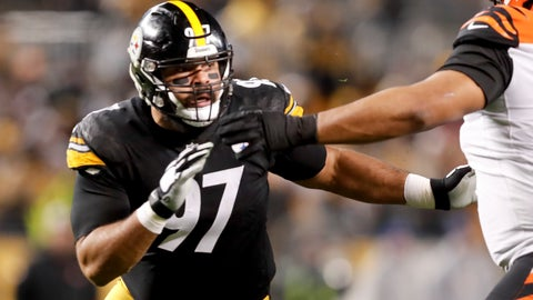 <p>               FILE - In this Dec. 30, 2018, file photo, Pittsburgh Steelers defensive end Cameron Heyward (97) plays against the Cincinnati Bengals in an NFL football gamein Pittsburgh. Heyward isn't sure what his future holds. The club hasn't contacted the Pro Bowler about an extension as he enters the final year of his current deal. (AP Photo/Don Wright, File)             </p>