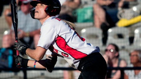 <p>               FILE - In this Aug. 27, 2019, file photo, Canada's Victoria Hayward watches her inside-the-park grand slam against Guatemala during the first inning of a game in the Softball Americas Olympic qualifier tournament in Surrey, British Columbia. Hayward would have been in Japan right about now preparing for the Olympics as captain of Canada's softball team. The coronavirus pandemic pushed the Summer Games back a year. But she will not have to wait too much longer to get back on the field. She is one of the 56 elite players signed to suit up when Athletes Unlimited launches the first of its professional women's sports leagues with a six-week season near Chicago in late August and an innovative model made for the moment. (Darryl Dyck/The Canadian Press via AP, File)             </p>