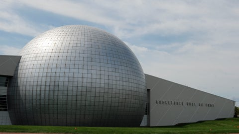 """<p>               FILE - In this Sept. 8, 2016, file photo, the Naismith Memorial Basketball Hall of Fame is seen in Springfield, Mass. As part of a $22 million, court-to-rafters renovation, the Basketball Hall of Fame installed enough new touch screens to tell the story of every person enshrined on its dome of honor. But before it could unveil the improvements, the coronavirus outbreak hit, turning """"hands-on"""" into """"hands-off."""" Now the basketball shrine and other sports Halls of Fame have been forced to backtrack from a longtime trend in all museums toward interactives that have become taboo in a pandemic era. (AP Photo/Jessica Hill, File)             </p>"""