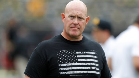 <p>               FILE - In this Sept. 1, 2018, file photo, Iowa strength and conditioning coach Chris Doyle walks on the field before an NCAA college football game between Iowa and Northern Illinois, in Iowa City, Iowa. Former players have accused Doyle of bullying and making racist comments. He remains on paid administrative leave, The Associated Press reports, Friday, June 12, 2020. (AP Photo/Charlie Neibergall, File)             </p>