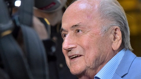 <p>               FILE - In this file photo dated Tuesday, June 19, 2018, former FIFA President Joseph Blatter in Moscow, Russia.  According to documents Saturday June 13, 2020, former FIFA president Sepp Blatter is the target of a new investigation in Switzerland for suspected criminal mismanagement of soccer funds. (AP Photo/Dmitry Serebryakov, FILE)             </p>