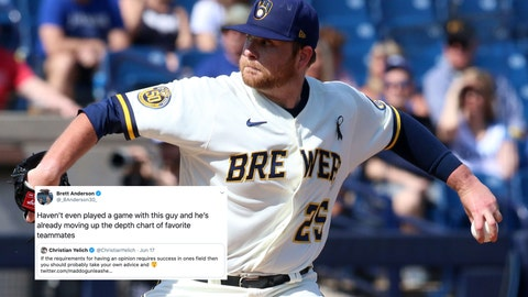 Brett Anderson, Brewers pitcher