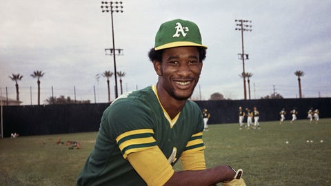 <p>               FILE - This 1975 file photo shows Oakland A's outfielder Claudell Washington. Washington, a two-time All-Star outfielder who played 17 seasons in the majors after being called up as a teenager in Oakland, died Wednesday, June 10, 2020. He was 65. (AP Photo/Robert H. Houston, File)             </p>