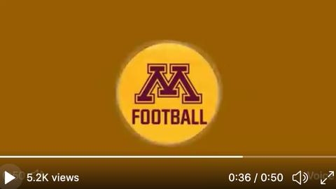 Minnesota Gophers football