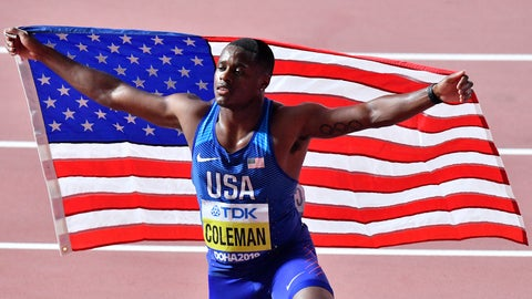 <p>               FILE - In this Sept. 28, 2019, file photo, Christian Coleman, of the United States, poses after winning the men's 100 meter race during the World Athletics Championships in Doha, Qatar. Reigning world champion Coleman insists a simple phone call from drug testers while he was out Christmas shopping could've prevented the latest misunderstanding about his whereabouts, one he fears could lead to a suspension. (AP Photo/Martin Meissner, File)             </p>