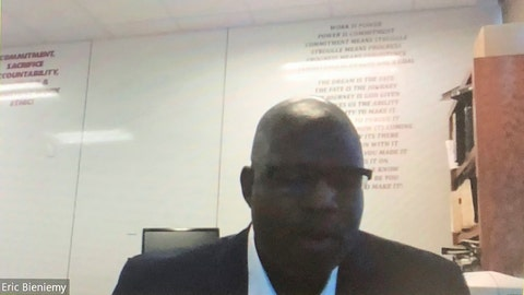 <p>               In this image made from video, Kansas City Chiefs offensive coordinator Eric Bieniemy speaks on a Zoom call Tuesday, June 23, 2020. The biggest takeaway following the NFL's two-day quarterback coaching summit aimed at improving the league's diversity, is that there's no shortage of qualified minority candidates waiting for opportunities to be head coaches and coordinators.(Rob Maaddi/Zoom via AP)             </p>
