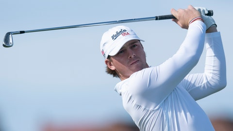 <p>               FILE - In this Sept. 8, 2019, file photo, John Augenstein of the USA team drives off the second tee during the Walker Cup golf tournament against Great Britain and Ireland at Royal Liverpool Golf Club in Hoylake, England. Augenstein is returning to Vanderbilt for a fifth season of eligibility because of the COVID-19 pandemic. (AP Photo/Jon Super, File)             </p>