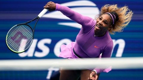 """<p>               FILE - In this Sept. 7, 2019, file photo, Serena Williams returns a shot to Bianca Andreescu, of Canada, during the women's singles final of the U.S. Open tennis championships in New York. Serena Williams is planning to play in the 2020 U.S. Open. The 23-time Grand Slam singles champion said in a video shown during the U.S. Tennis Association's tournament presentation Wednesday, June 17, 2020, that she """"cannot wait to return"""" to New York for the major championship she has won six times. (AP Photo/Eduardo Munoz Alvarez, File)             </p>"""