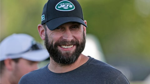 <p>               FILE - In this Thursday, July 25, 2019, file photo, New York Jets head coach Adam Gase smiles during practice at the NFL football team's training camp in Florham Park, N.J.  Adam Gase still absolutely envisions Jamal Adams as a member of the New York Jets this season. (AP Photo/Seth Wenig, File)             </p>