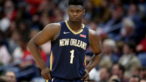 <p>               FILE - In this March 6, 2020, file photo, New Orleans Pelicans forward Zion Williamson walks onto the court during the second half of the team's NBA basketball game against the Miami Heat in New Orleans. A Florida appeals court has granted Williamson's motion to block his former marketing agent's effort to have the ex-Duke star answer questions about whether he received improper benefits before playing for the Blue Devils. The order Wednesday shifts the focus to separate but related case between the same litigants in federal court in North Carolina. (AP Photo/Rusty Costanza, File)             </p>