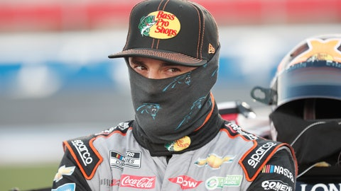 <p>               Austin Dillon waits for the start of a NASCAR Cup Series auto race at Charlotte Motor Speedway Thursday, May 28, 2020, in Concord, N.C. (AP Photo/Gerry Broome)             </p>