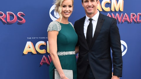 """<p>               FILE - In this April 15, 2018 file photo, Brittany and Drew Brees arrive at the 53rd annual Academy of Country Music Awards at the MGM Grand Garden Arena in Las Vegas. New Orleans Saints Quarterback Drew Brees has apologized for comments he made in an interview regarding his opposition to Colin Kaepernick's kneeling during the national anthem. His wife apologized on Saturday, June 6, 2020, as well, saying """"we are the problem.""""  (Photo by Jordan Strauss/Invision/AP, File)             </p>"""