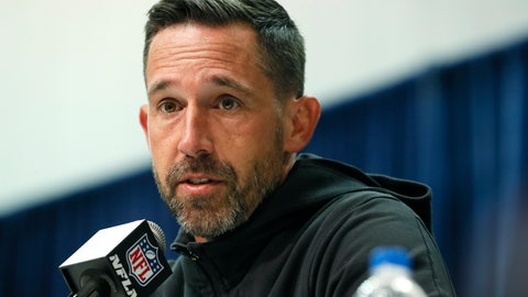 <p>               FILE - In this Feb. 25, 2020, file photo, San Francisco 49ers head coach Kyle Shanahan speaks during a news conference at the NFL football scouting combine in Indianapolis. Shanahan praised former NFL quarterback Colin Kaepernick Thursday, June 4, for trying to bring the issue of racism and police brutality to light with his protests during the national anthem in the 2016 season. (AP Photo/Charlie Neibergall, File)             </p>