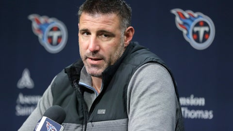 <p>               FILE - In this Jan. 20, 2020, file photo, Tennessee Titans head coach Mike Vrabel answers a question during an NFL football news conference in Nashville, Tenn. Vrabel has seen all he needs to see from his Titans during this very unique and virtual offseason. That's why Vrabel and the Titans wrapped up their offseason program Thursday, Jan, 11, 2020, even though the NFL is allowing teams to work through June 26. (AP Photo/Mark Humphrey, File)             </p>