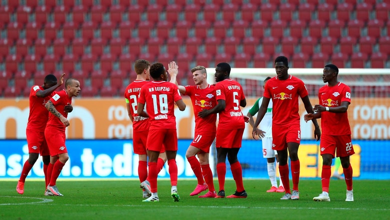 Timo Werner scores big for RB Leipzig against FC Augsburg, win 2-1 ...