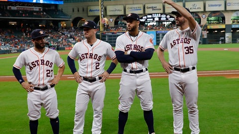 I will not bet on the Astros, I will not bet on the Astros ...