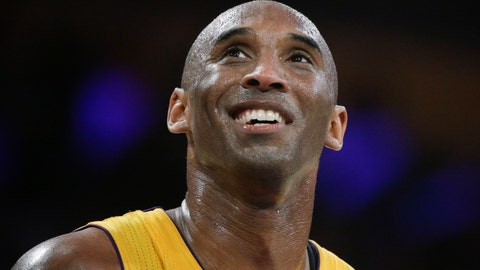 <p>               FILE - In this April 13, 2016, file photo, Los Angeles Lakers forward Kobe Bryant smiles during the first half of his last NBA basketball game, against the Utah Jazz in Los Angeles. The Naismith Memorial Basketball Hall of Fame was gearing up for a great year: not just the certain election of NBA superstars like Kobe Bryant, Kevin Garnett and Tim Duncan, but also a chance to unveil a completely renovated museum. Because of the coronavirus outbreak, the reopening has been pushed back two months to July 1 and the induction ceremony is being postponed, either to October or the spring. (AP Photo/Jae C. Hong, File)             </p>