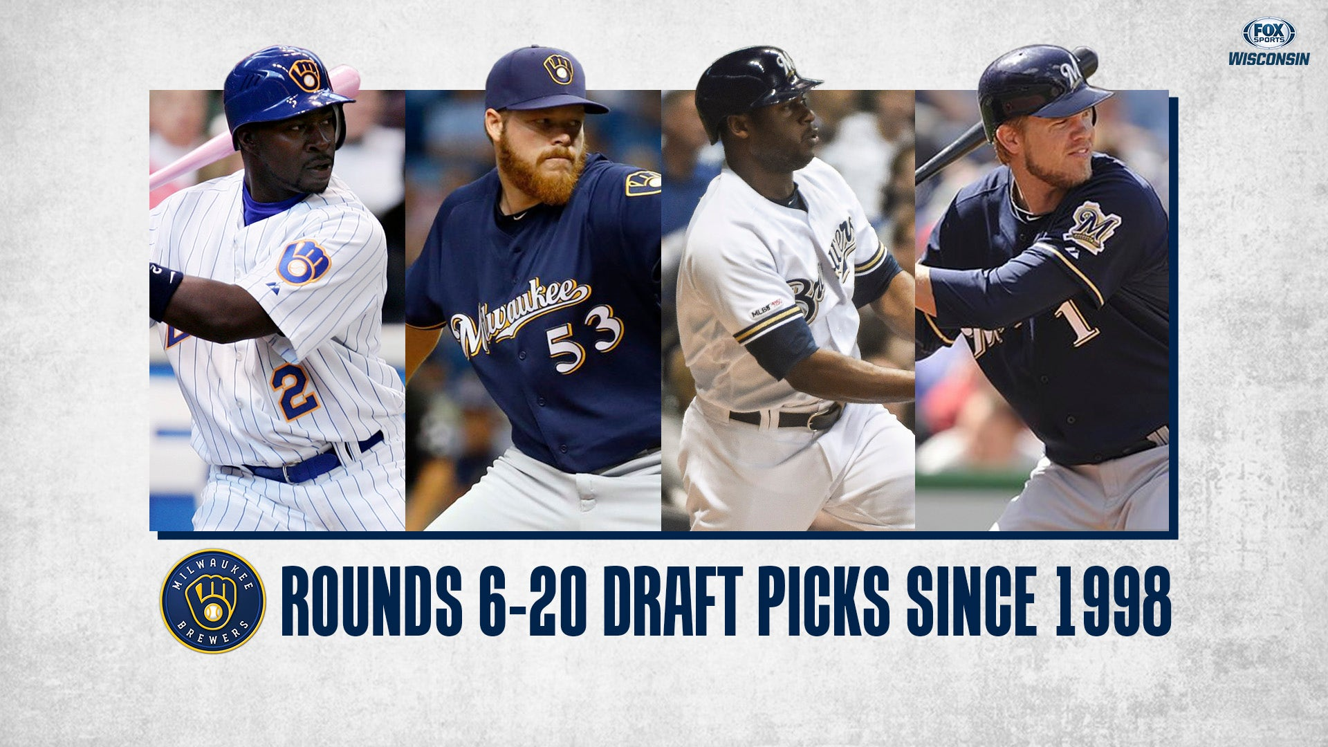Brewers Mlb Draft Glance Since 1998 Rounds 6 20 Fox Sports