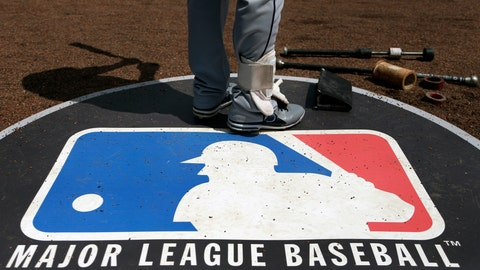 <p>               FILE - In this April 24, 2013, file photo, Cleveland Indians second baseman Jason Kipnis stands on the Major League Baseball logo that serves as the on deck circle during the first inning of a baseball game between the Chicago White Sox and the Indians, in Chicago. Major League Baseball rejected the players' offer for a 114-game regular season in the pandemic-delayed season with no additional salary cuts and told the union it did not plan to make a counterproposal, a person familiar with the negotiations told The Associated Press. The person spoke on condition of anonymity Wednesday, June 3, 2020, because no statements were authorized.(AP Photo/Charles Rex Arbogast, File)             </p>