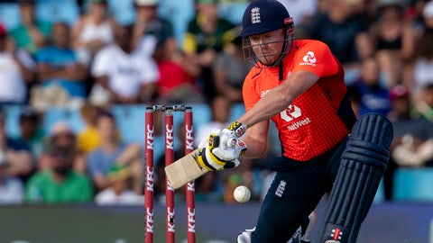 <p>               FILE - In this file photo dated Sunday, Feb. 16, 2020, England's batsman Jonny Bairstow during the final T20 cricket match against South Africa at Centurion Park in Pretoria, South Africa.  On Tuesday June 16, 2020, wicketkeeper-batsman Jonny Bairstow insists he has the hunger to win back his test place with England and will not be satisfied just playing limited-overs cricket.(AP Photo/Themba Hadebe, FILE)             </p>