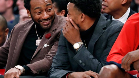 <p>               FILE - In this Dec. 23, 2019, file photo, injured Washington Wizards' John Wall, left, talks to an also injured teammate as they sit on the bench during the second half of an NBA basketball game against the New York Knicks in New York. The Wizards have ruled out the possibility of star guard Wall playing when the NBA season resumes. General manager Tommy Sheppard says Wall will not travel with the team to Walt Disney World in Central Florida to restart the season. Wall has not played an NBA game since December 2018. He tore his left Achilles tendon and needed another operation in 2019. (AP Photo/Kathy Willens, File)             </p>