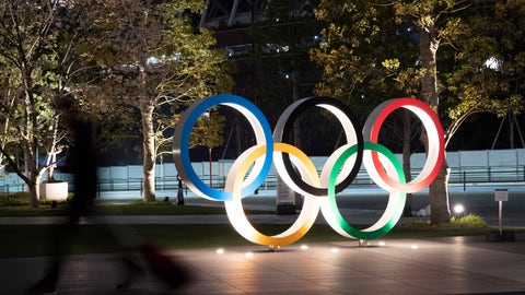 <p>               FILE - In this March 30, 2020, file photo, the Olympic rings are displayed in Tokyo. Elk Grove Village has a rose. A nice green one with five zeroes behind it. Now it is looking for the right partner. With Olympic leaders concerned about funding heading into the Tokyo Games, Elk Grove is looking to sponsor a U.S. federation in another bid to generate exposure for the Chicago suburb after it attracted some lucrative attention for its partnership with college football's Bahamas Bowl. (AP Photo/Jae C. Hong, File)             </p>