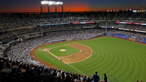 <p>               FILE - In this Aug. 29, 2019, file photo, the sun sets behind Citi Field during a baseball game between the New York Mets and the Chicago Cubs in New York. Major League Baseball players ignored claims by clubs that they need to take additional pay cuts, instead proposing they receive a far higher percentage of salaries and a commit to a longer schedule as part of a counteroffer to start the coronavirus-delayed season. (AP Photo/Kathy Willens, File)             </p>
