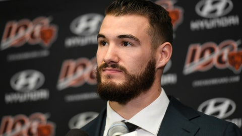 """<p>               FILE - In this Dec. 29, 2019, file photo, Chicago Bears quarterback Mitchell Trubisky speaks during a news conference after an NFL football game against the Minnesota Vikings, in Minneapolis. Trubisky understands why the Bears acquired quarterback Nick Foles. That doesn't mean he's ready to hand over the starting job. Trubisky said the trade for Foles gave him extra motivation to show he can develop into the franchise quarterback the Bears thought he would become when they moved up a spot to draft him with the No. 2 overall pick in 2017. """"That's the business we're in,"""" he said in a conference call on Friday, June 12, 2020. (AP Photo/Craig Lassig, File)             </p>"""