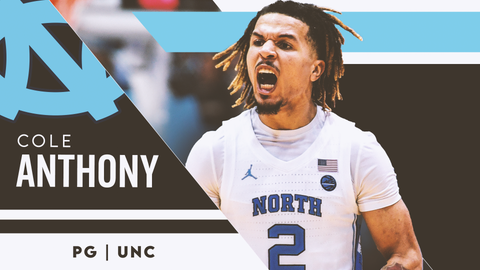 9. Washington Wizards — Cole Anthony, PG, North Carolina (8)