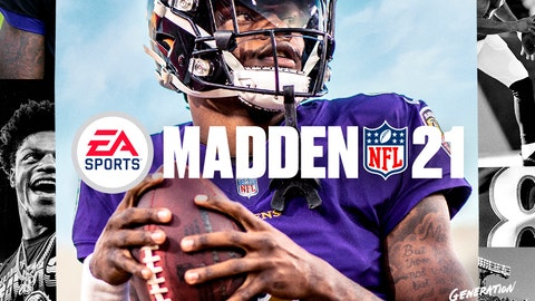 <p>               This image provided by EA Sports shows the cover of the Madden 21 video game, featuring Baltimore Ravens quarterback Lamar Jackson, which will be released in August. (Photo courtesy of EA Sports via AP)             </p>