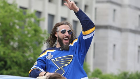 <p>               In this  June 15, 2019 file photo St. Louis Blues right wing Chris Thorburn waves to fans during the NHL hockey Stanley Cup victory celebration in St. Louis. Thorburn has announced his retirement, Monday, June 22, 2020 after playing more than 800 NHL games since 2005. Thorburn spent his last time on the ice celebrating the St. Louis Blues winning the Stanley Cup last season. (AP Photo/Scott Kane, file)             </p>