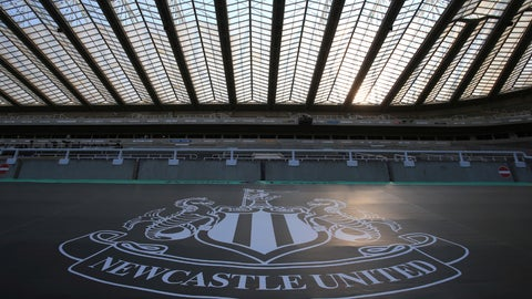 <p>               Empty seats during the English Premier League soccer match between Newcastle United and Aston Villa at St James' Park stadium in NewCastle, England, Wednesday, June 24, 2020. (Lindsey Parnaby/Pool via AP)             </p>