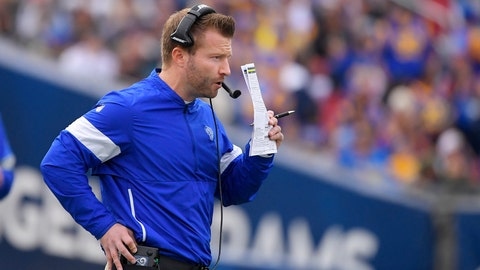 <p>               FILE - In this Dec. 29, 2019, file photo, Los Angeles Rams coach Sean McVay stands on the sideline during the first half of the team's NFL football game against the Arizona Cardinals n Los Angeles. McVay wrapped up the Rams' virtual offseason program this week. He could have kept going for another two weeks, but the head coach feels the Rams got plenty of work done in this unusual NFL spring. He still hasn't seen most of his players in person this spring, and he doesn't know when he'll see them next. (AP Photo/Mark J. Terrill, File)             </p>
