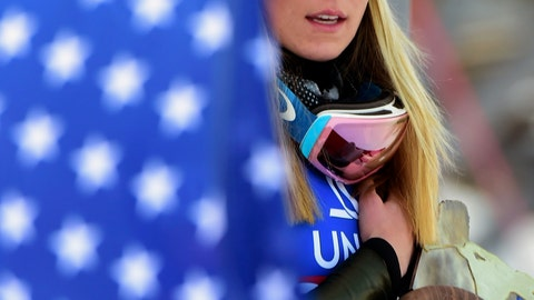 """<p>               FILE - In this Dec. 29, 2019, file photo, first placed United States' Mikaela Shiffrin celebrates on the podium after completing a women's World Cup slalom ski race in Lienz, Austria. The Associated Press spoke to more than two dozen athletes from around the globe -- representing seven countries and 11 sports -- to get a sense of how concerned or confident they are about resuming competition. """"If the tests don't come back for a couple of days and what-not, how does that really work?"""" said ski racer Mikaela Shiffrin, a two-time Olympic gold medalist and three-time World Cup overall champion. """"It's good to know if you test positive or negative. But if we're talking about being tested today so we can race tomorrow, but the results don't come back for two days, it doesn't really help."""" (AP Photo/Pier Marco Tacca, File)             </p>"""