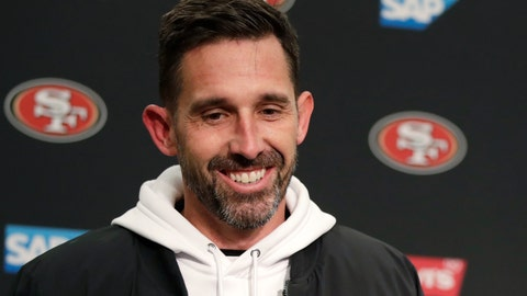 <p>               FILE - In this Dec. 29, 2019, file photo, San Francisco 49ers head coach Kyle Shanahan smiles during a news conference after an NFL football game against the Seattle Seahawks in Seattle. The 49ers rewarded Shanahan with a new six-year contract Monday, June 15, 2020, after he took the team to the Super Bowl in his third season at the helm. A person familiar with the deal said the Niners are replacing the three years remaining on Shanahan's original six-year contract signed in 2017 to keep him under contract through 2025. The person spoke on condition of anonymity because the deal hasn't been announced. (AP Photo/Stephen Brashear, File)             </p>