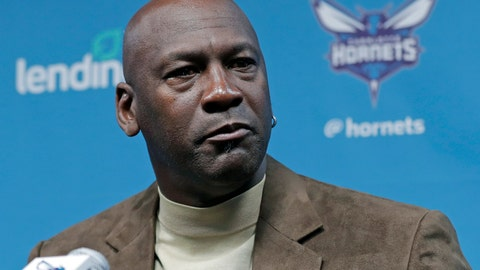 <p>               FILE - In this Feb. 12, 2019, file photo, Charlotte Hornets owner Michael Jordan speaks to the media about hosting the NBA All-Star basketball game during a news conference in Charlotte, N.C. Jordan spoke to his Hornets players recently via video conference call about what it takes to be a champion, emphasizing the need for accountability, even if it means making teammates comfortable (AP Photo/Chuck Burton, File)             </p>