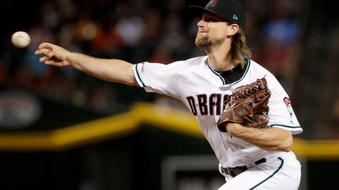<p>               FILE - In this Sept. 24, 2019, file photo, Arizona Diamondbacks starting pitcher Mike Leake throws against the St. Louis Cardinals during the first inning of a baseball game, in Phoenix. Diamondbacks right-hander Mike Leake has opted out of the 2020 season due to concerns about the coronavirus. Diamondbacks general manager Mike Hazen did not elaborate on Leake's decision during a Zoom call, but the pitcher's agent issued a statement saying he made a personal decision not to play during the pandemic. (AP Photo/Matt York, File)             </p>