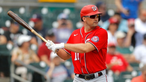 <p>               FILE - In this Tuesday, March 10, 2020, file photo, Washington Nationals' Ryan Zimmerman waits for a pitch from Miami Marlins pitcher Caleb Smith during the first inning of a spring training baseball game, in Jupiter, Fla.  Longtime infielder Ryan Zimmerman and pitcher Joe Ross are opting out of playing the 2020 season as Major League Baseball tries to get back amid the COVID-19 pandemic. General manager Mike Rizzo says the team is 100% supportive of Zimmerman and Ross deciding not to play. (AP Photo/Julio Cortez, File)             </p>