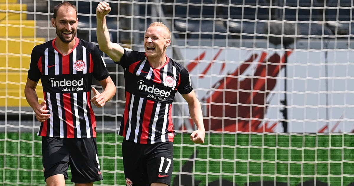 Paderborn come up just short of a comeback against Frankfurt, lose 3-2 (VIDEO)