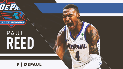 24. Utah Jazz —  Paul Reed, F, DePaul (24)
