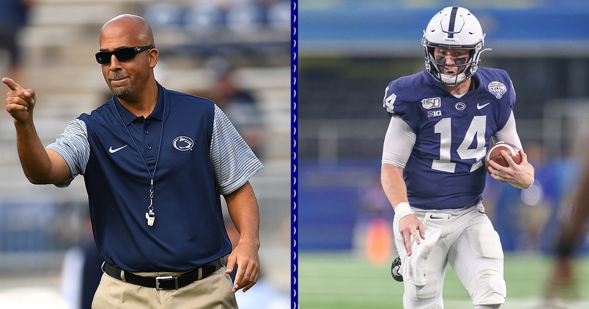 James Franklin on QB Sean Clifford: 'He's really a driven, motivated guy' | BIG NOON KICKOFF (VIDEO)