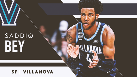 16. Minnesota Timberwolves (via Brooklyn) — Saddiq Bey, SF, Villanova (17)